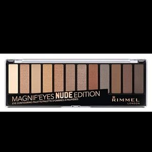 Rimmel London Magnif'eyes Nude Edition eye palette